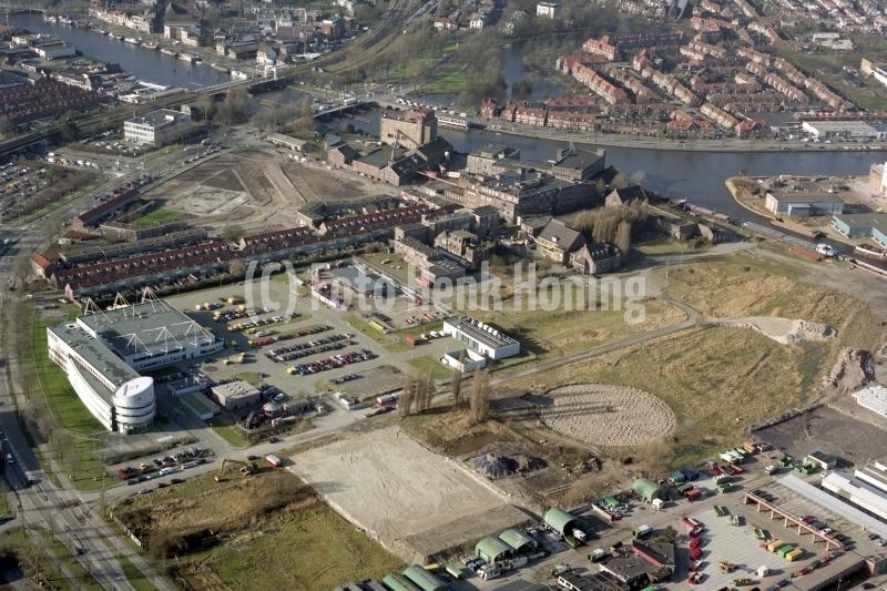 Haarlem Centrum  Droste fabriek Spaarne  Waarderpolder Kick Smit  Wim van Es straat 2002 lfh 020130022-110