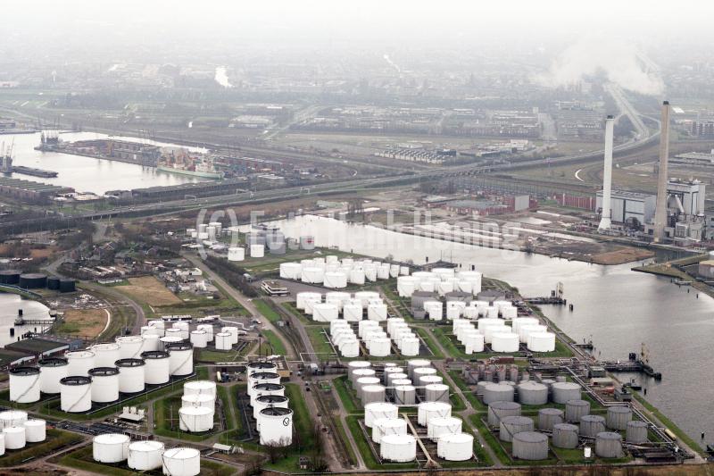 Amsterdam Havens Petroleumhaven Jan van Riebeeckhaven Pen Hem centrale 1989 lfh 89030419