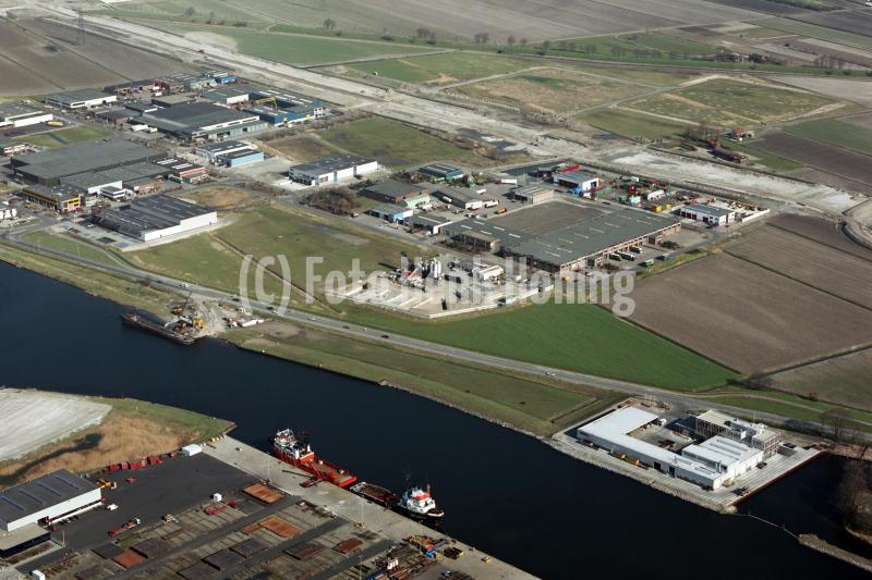 Beverwijk Wijkermeer industrie terrein Beverwijk -oost aanleg A-9 wijkertunnel achtergrond 1990 lfh 90031230