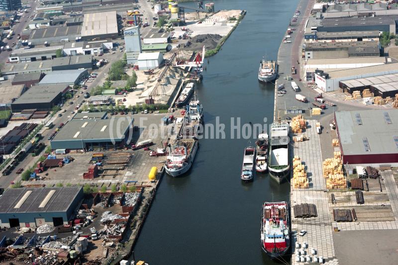 Beverwijk  Haven de Pijp Beaverbase Heymerink Reym 1990 lfh 90050219