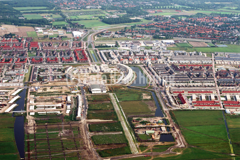 Velsen Velserbroek bouw overzicht 1991 lfh 91082743