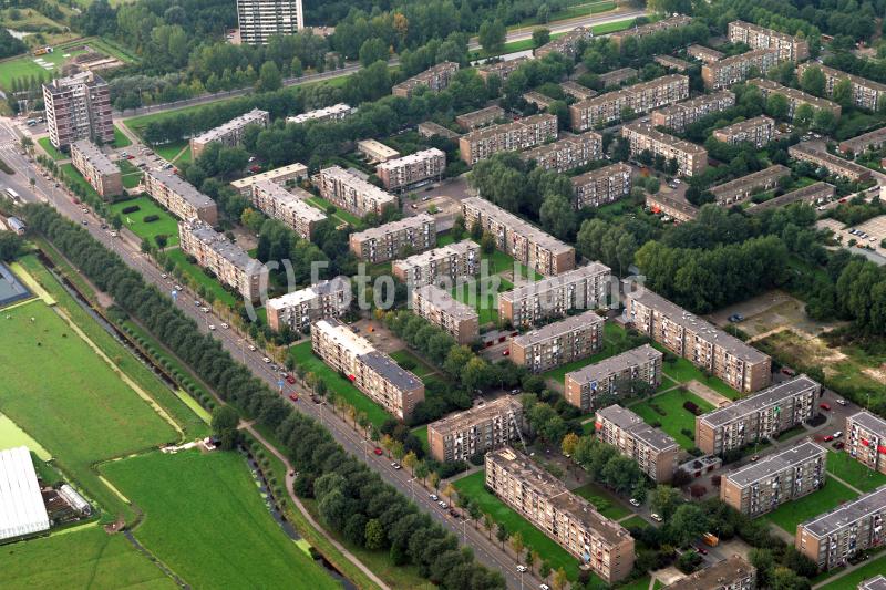Denhaag Woonwijk Erasmus weg compl 17 Pitssburg corning 1991 lfh 91101507