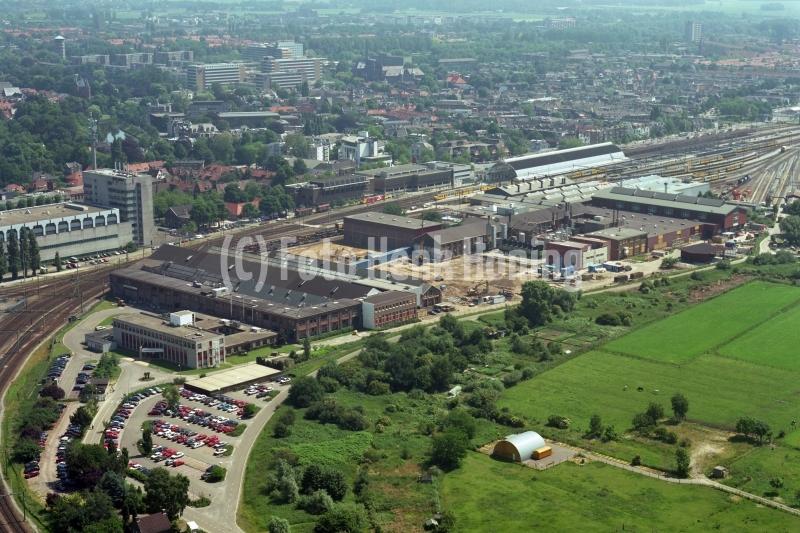 Zwolle Wartsilo Fabriek Station 1995 LFH 95062610-037
