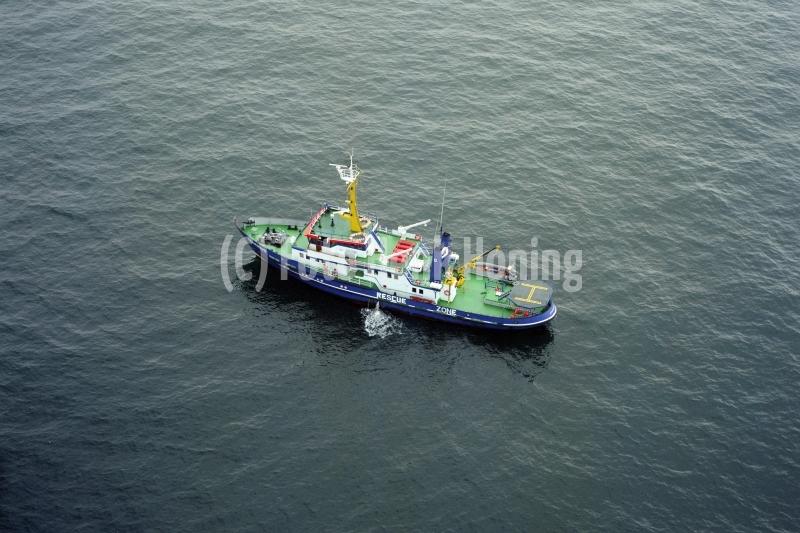 Noordzee M7-5 Flare Aquarius save rescue ship Rederij Groen 1996   lfh  96100817-098