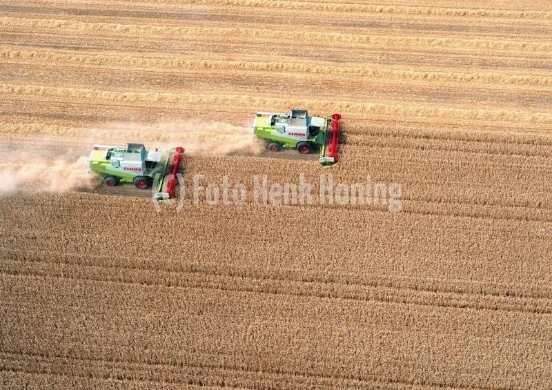 Flevo polder combines oogsten  lfh 97081550003
