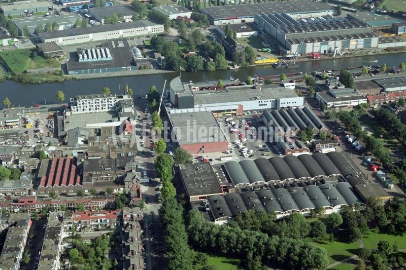 Haarlem Paul Krugerkade Spaarne Vomar Figee 1997  lfh 97092213-144