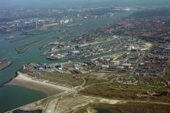 IJmuiden Industrie terrein Havens Sluizen Noordzee kanaal 2000 lfh 000410058-040