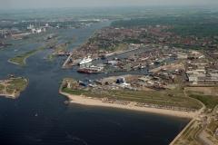 IJmuiden Havens Kleinestrand Sluizen 2000 lfh 000515031-058