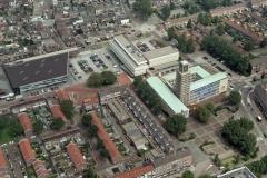 Velsen Stadhuis toren renovatie 2000 lfh 000720044-092