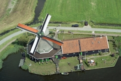 Zaandam Zaanse Schans Verf Molen de Kat 2000 lfh000801020-102