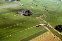 Kolhorn Westfriese zeedijk met oogsten 2000 lfh 000812066-135