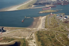 IJmuiden bouw 3e haven IJmondhaven 2000 lfh 000919088-153