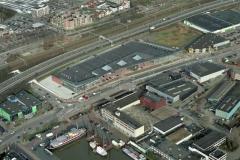 Beverwijk Parallelweg Woonplaza Slachthuis hoek bouw 2001 lfh 010209010-009