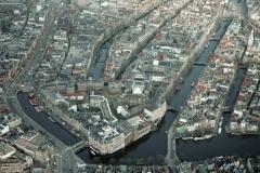 Amsterdam grachten l Europ UVA Rokin Amstel 2001 lfh 010209066-014