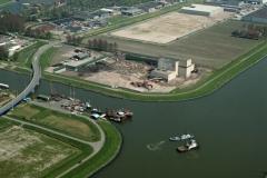 Zaandam Westzanerpolder Vuilverbranding bouw industrie terrein 2001 lfh 010509056-072