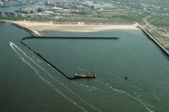 IJmuiden 3e haven IJmond aanleg 2001 lfh 010509086-074