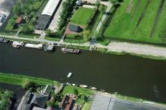 Krommeniedijk Voet veerpont  Molletjes veer noordervaart 2001 lfh 010512064-088