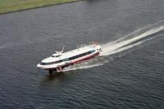 Zaandam Noordzee kanaal Draag vleugel boot Annemarie 2001 lfh 010613030-144