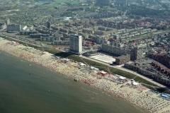 Zandvoort  Strand Boulevaar Drukte recreatie 2001 lfh 010815034-164