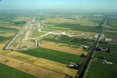 Hoofddorp aanleg Polderbaan  bouw 5e baan Schiphol 2001 lfh 010815453-204