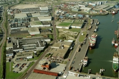 IJmuiden Haringhaven platform P 12-C Vissers schepen 2011 lfh 011005026-177