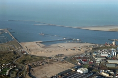 IJmuiden Zeehaven IJmuiden bouw 3e haven IJmondhaven 2001 lfh 011214021-192