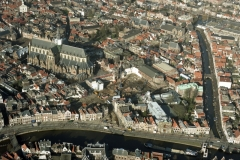 Haarlem Centrum Grote kerk St.Bavo Teylermuseum bouw Philharmonie 2002 lfh 020130023-109