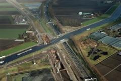 Roelofarendsveen HSL viaduct aanleg A 4  Ringvaart 2002 lfh 020131047-008