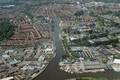 Alkmaar Noord Hollands kanaal Omval Binnenstad 2002 lfh 020531056-041