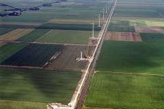 Wieringermeer Westfriesedijk bouw Windmolen Turbines 2002 lfh 020708011-045