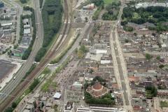 Beverwijk De Meer Breestraat na renovatie Beverhof Station Stationsplein 2002 lfh 020711017-049