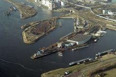 Velsen-Noord Velserkom 3e rijksbinnenhaven Cemij 2003 lfh 030109002-001