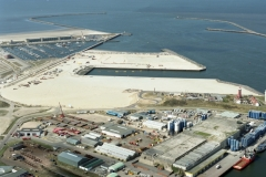 IJmuiden Zeehaven 3e haven IJmond haven bouw 2003 lfh 030116012-051