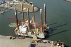 IJmuiden Zeehaven Seafox-4 Arnolduskade Genius K17-FA-1 Nam project 2003 lfh 030904036-023