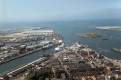 IJmuiden Zeehaven havens DFDS Seafox Clipper Amsterdam Forteiland div schepen 2003 lfh 030904041-024