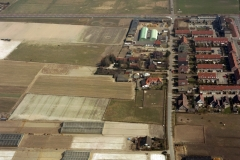 Velsen Velserbroek Hofgeest Hofgeesterweg boerderij Jan Makkes 1996  lfh 96040524-003