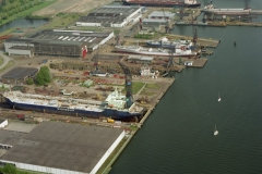Amsterdam Shipdock werf NDSM 1996 lfh 96052516-017