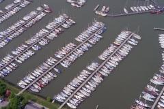 Monnickendam Jachthaven Jachten Schepen pleziervaart toerisme 1996 lfh 96060373-025
