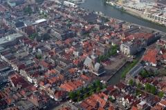 Alkmaar Centrum Kaasmarkt Waagplein Bathbrug Langestraat 1996  lfh 96060564-034
