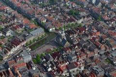 Alkmaar Centrum Kaasmarkt Waagplein Bathbrug Langestraat 1996  lfh 96060564-035