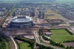 Amsterdam Amsterdam Z.O. Arena bouw 1996 lfh 96061205-038