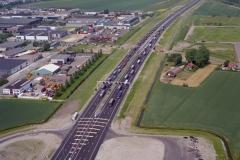 Beverwijk Buko transport wagen park op de A-9 voor opening 1996 lfh 96061505-041