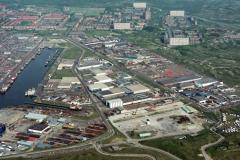 IJmuiden haring haven industrie gebied 1988 lfh 88051530