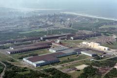Heemskerk Hoogovens Noord terrein overzicht richting zee 1988 lfh 88060330