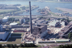 Velsen-Noord Pen centrale sloop van centrale 1988 lfh 88061523