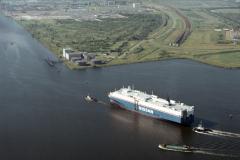 Amsterdam Noordzee kanaal Westhaven Yokohama Maru 1988 lfh 88061557
