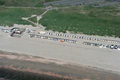 Wijk aan Zee strand paveljoen Schoos 1988 lfh 88070707