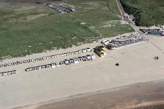 Wijk aan Zee strand paveljoen Noordzee 1988 lfh 88070718