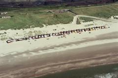 Wijk aan Zee strand huisjes bad zuid1988 lfh 88070725