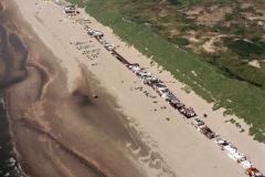 Wijk aan Zee strand Instuif  WRB huisjes bad Zuid1988 lfh 88070729